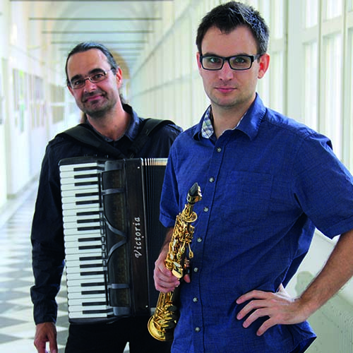 duo – saxofon – accordion